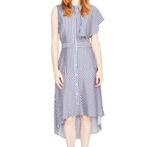 Rachel Roy Ruffle Shirt Dress